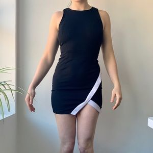 Guess Black & White Night-our Dress
